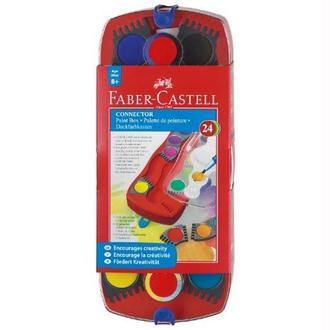 Faber-Castell Palette de peinture 24 couleurs (Import Royaume Uni)