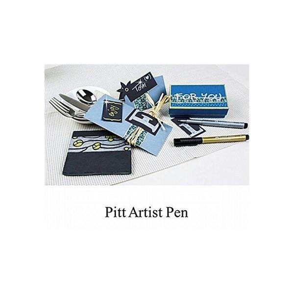 Faber Castell 167398 Feutre Pen Pitt Artist A251 Blister Argent - Photo n°1