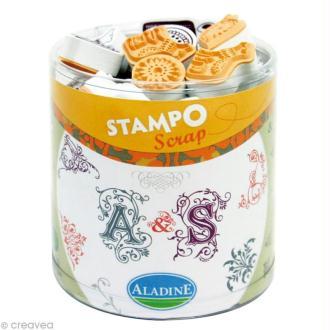 Kit 48 tampons Stampo'scrap Arabesque