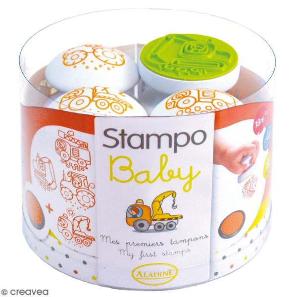 Tampon Stampo'baby Engins - Photo n°1