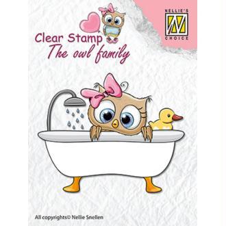Tampon Nellie Snellen - Prend son bain