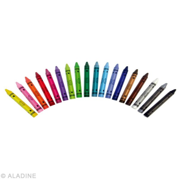 Crayons effaçables à sec - 18 pcs - Photo n°2