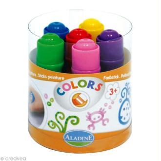 Feutre peinture Colors pour enfant x 6