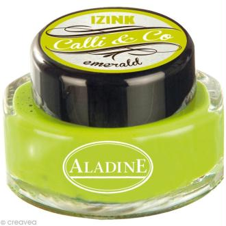 Encre calligraphie Vert émeraude 15 ml