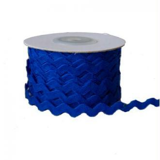2 m de ruban croquet couture tissu 0.5 cm BLEU