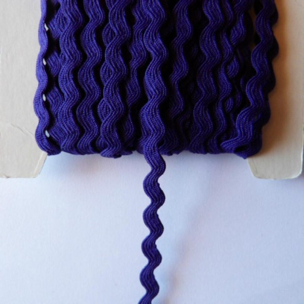 2 m de ruban croquet couture tissu 0.8 cm VIOLET - Photo n°1