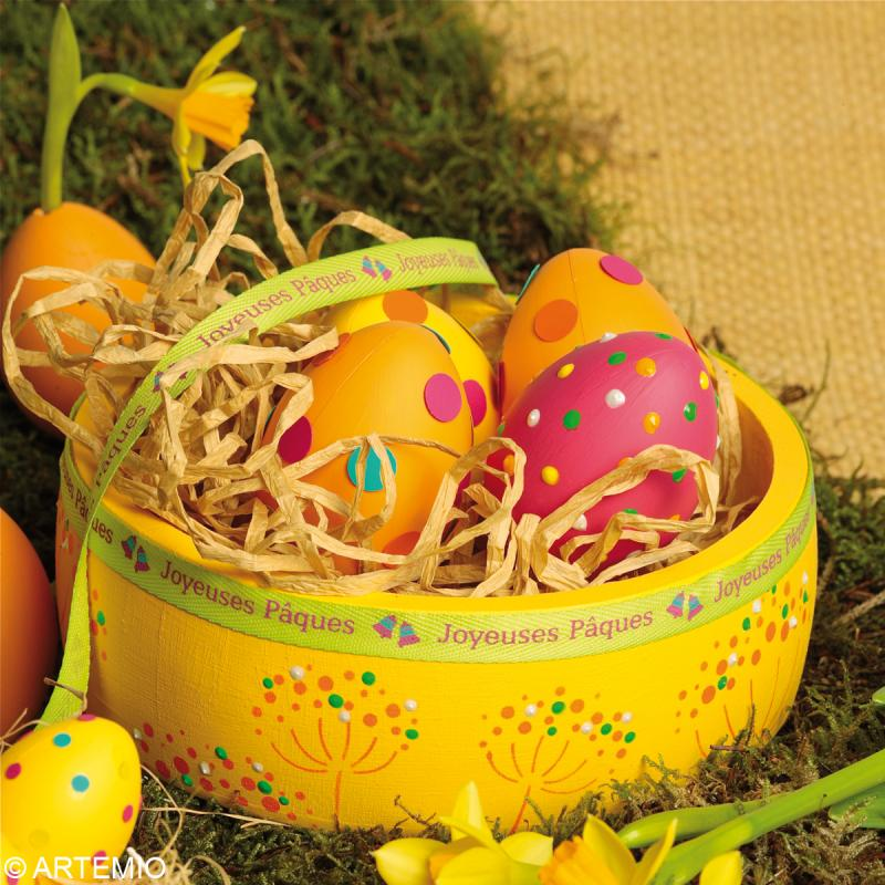 Oeuf de Pâques à décorer 6 cm x 12 - Photo n°2