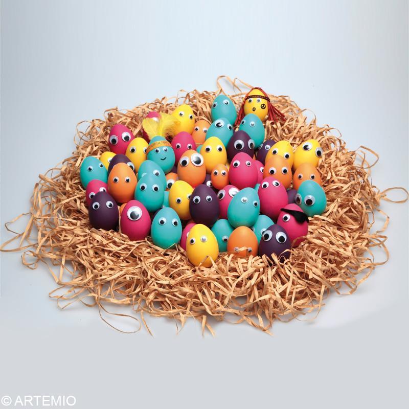 Oeuf de Pâques à décorer 6 cm x 12 - Photo n°5