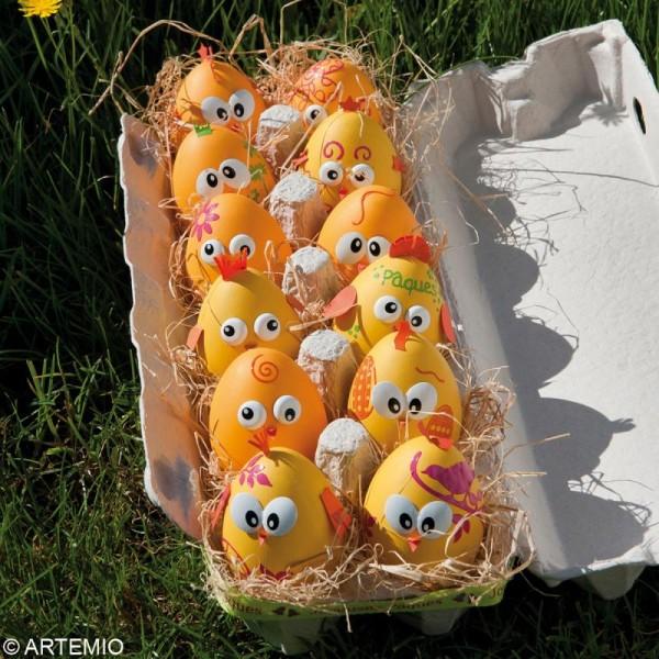 Oeuf De Pâques à Décorer 6 Cm X 12 Oeufs à Décorer Creavea