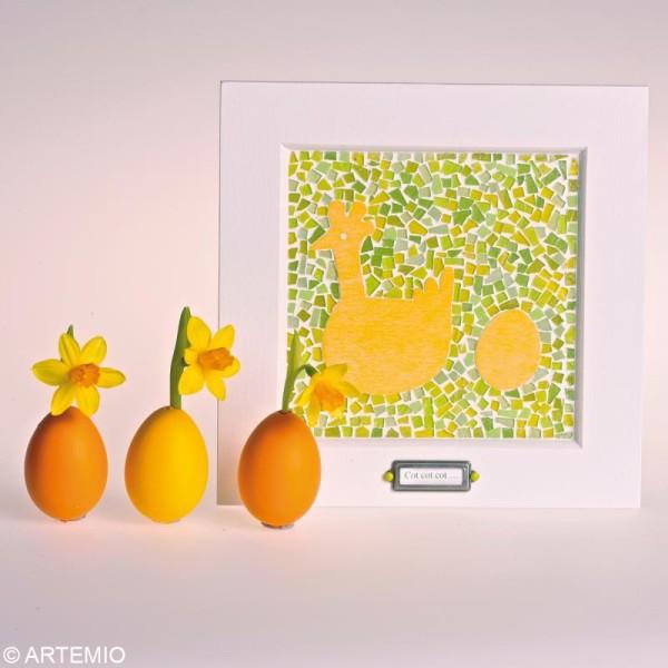 Oeuf de Pâques à décorer 9 cm x 6 - Photo n°3