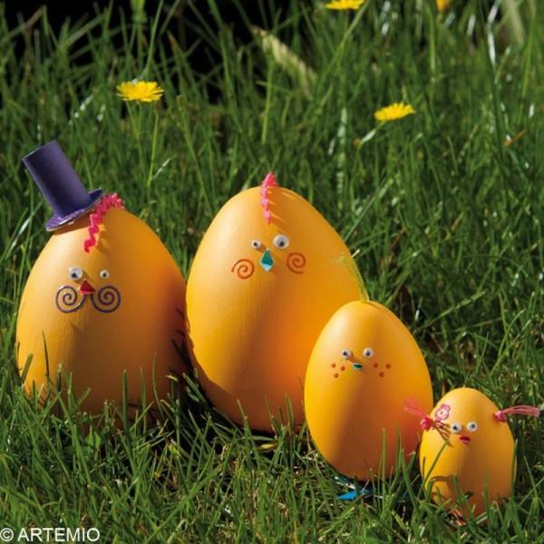 Oeuf de Pâques à décorer 9 cm x 6 - Photo n°5