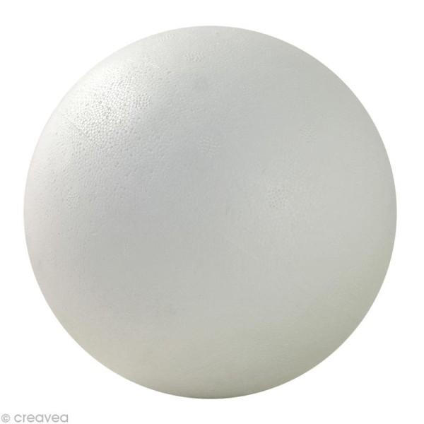 Boule en styropor 15 cm - Photo n°1