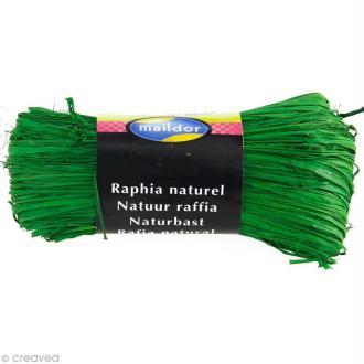 Raphia naturel Vert sapin 50 g