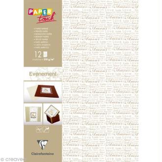 Papier Paper Touch - Evénement - Amour A4 x 12