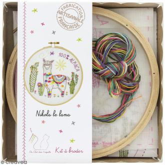 Kit broderie - Nikola le lama