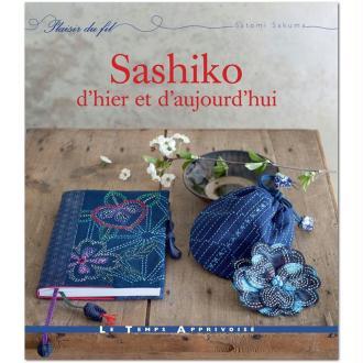 Livre broderie japonaise - Sashiko d'hier et d'aujourd'hui