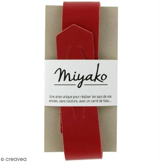 Anse sans couture Miyako - Rouge - 50 x 4 cm
