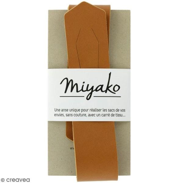Anse sans couture Miyako - Camel - 50 x 4 cm - Photo n°1