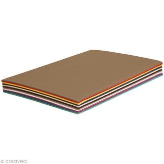 Carton ondulé A4 - Assortiment couleur x 30