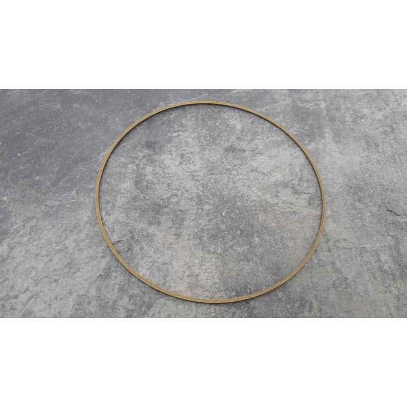Grands anneaux ferm s m tal couleur bronze support bijoux cadre attrape reves 8 cm - Cadre attrape reve ...