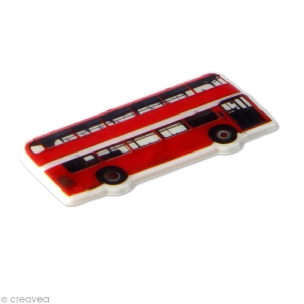 Sticker fantaisie Londres x 20 - 1 planche 7,5 x 12 cm - Photo n°2