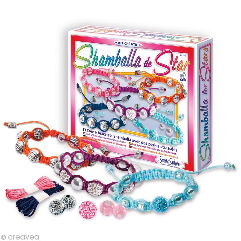 kit cr atif shamballa de star 6 bracelets jeux. Black Bedroom Furniture Sets. Home Design Ideas