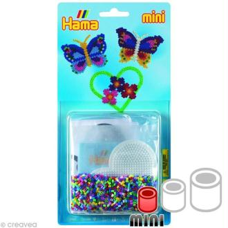 Kit Perles Hama mini diam. 2,5 mm - Papillon