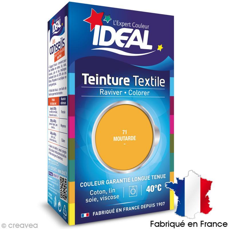 teinture tissu idal liquide jaune moutarde 71 mini - Colorant Textile