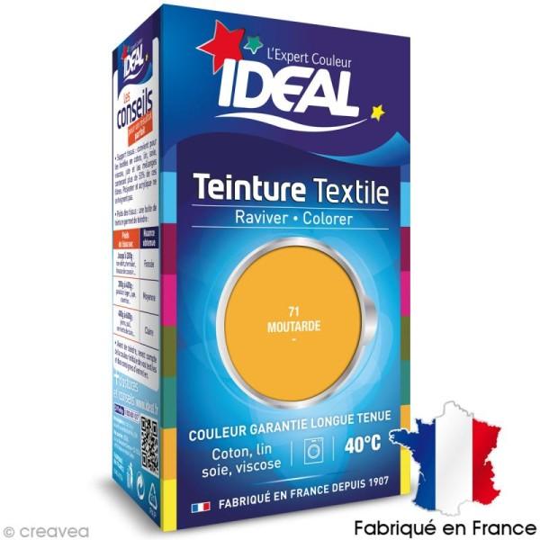 Teinture Tissu Idéal liquide Jaune moutarde 71 mini - Photo n°1