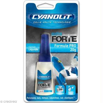 Colle Cyanolit Formule pro liquide - 20 gr