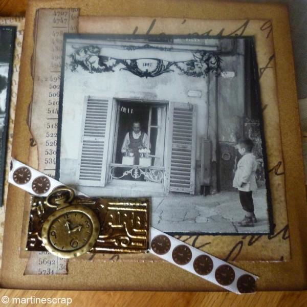 Breloque Vintage L'Air du temps - 4 pcs - Photo n°2