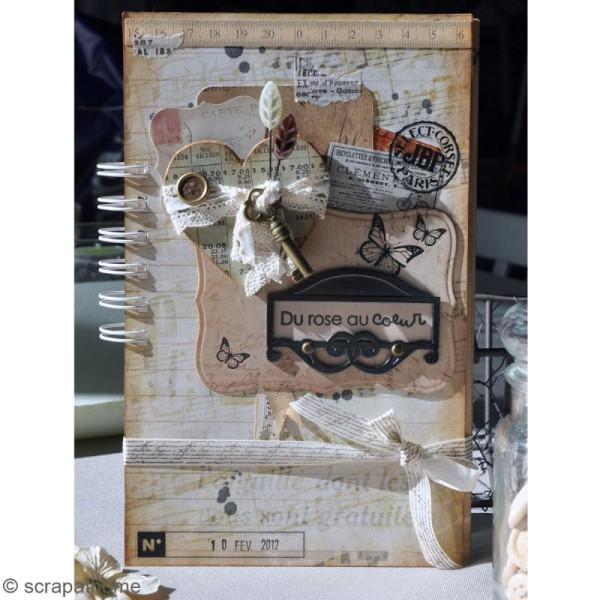 Breloque Vintage L'Air du temps - 4 pcs - Photo n°3