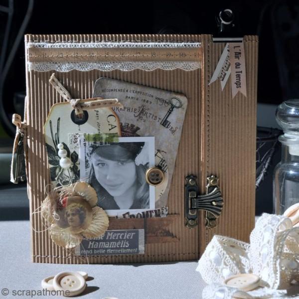 Tags en papier Vintage - 8 pcs - Photo n°2