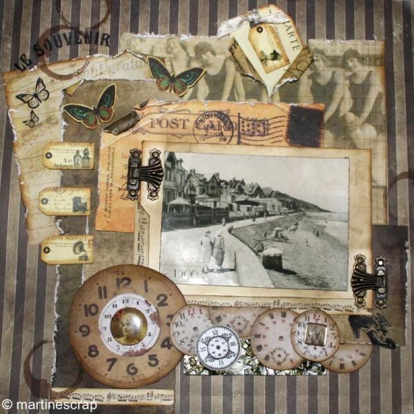 Tags en papier Vintage - 8 pcs - Photo n°4
