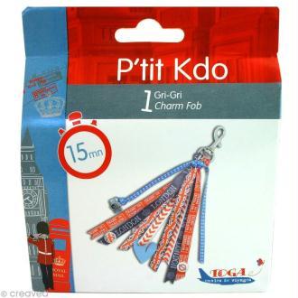 Kit scrapbooking P'tit Kdo accessoire Gri-gri Londres