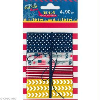 Ruban Toga - New York - 90 cm - 4 pcs
