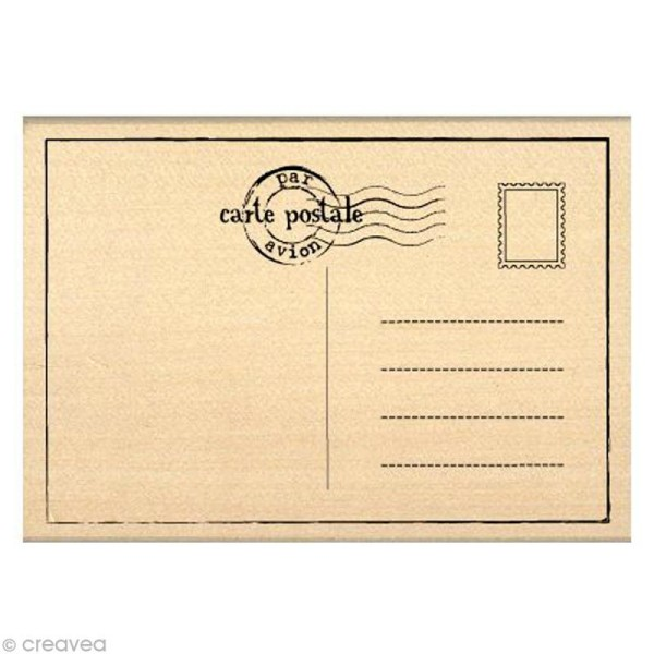 Tampon Divers - Carte postale - 7 x 10 cm - Photo n°1
