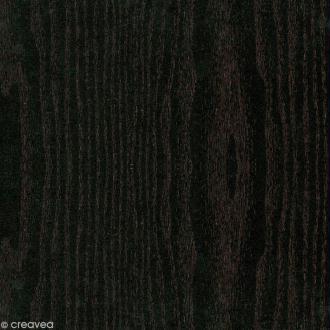 Adhésif décoratif bois - Bois noir 45 cm x 3 m