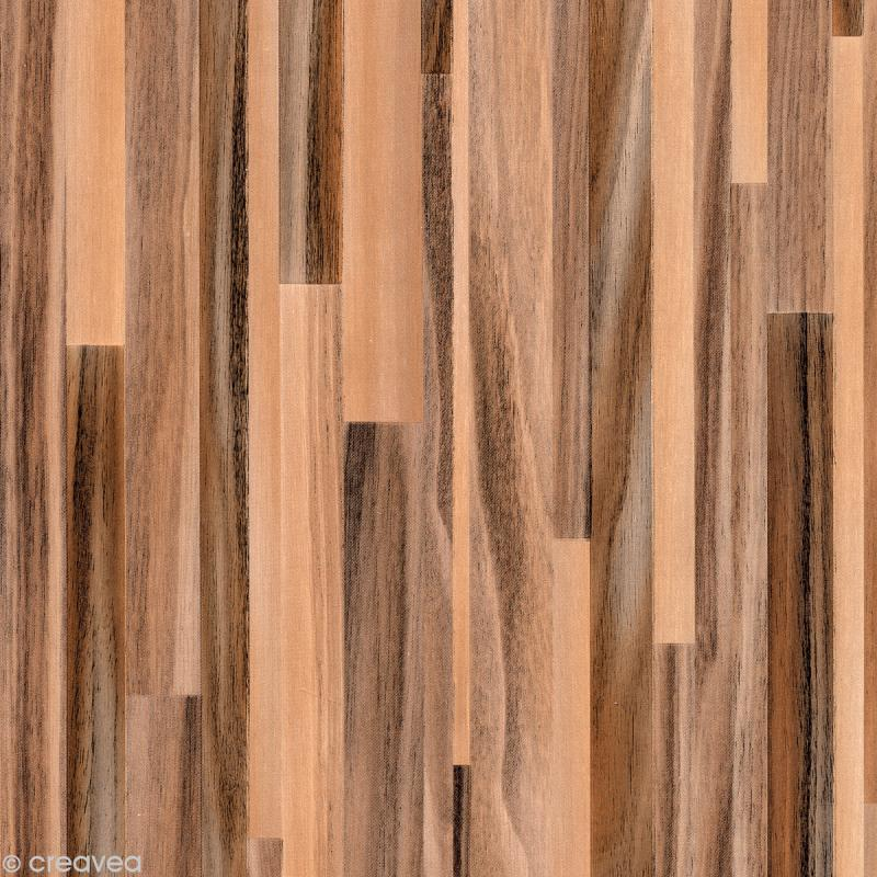Revetement adhesif imitation bois