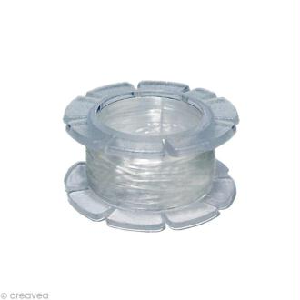 Fil élastique transparent Magic stretch 0,5 mm x 5 m