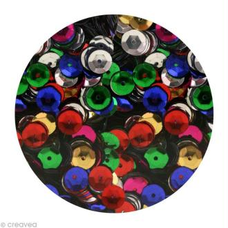 Sequins paillettes 6 mm Multicolore - 4000 pcs