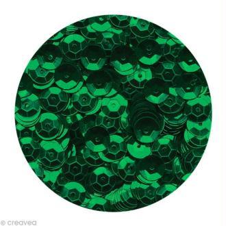 Sequins paillettes 6 mm Bleu vert - 4000 pcs