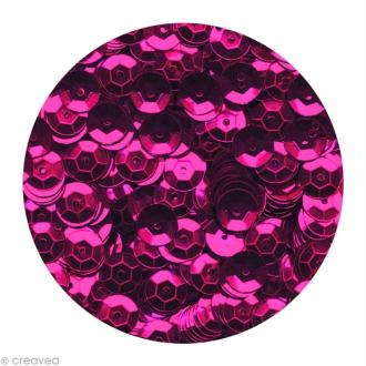 Sequins paillettes 6 mm Rose lilas - 4000 pcs