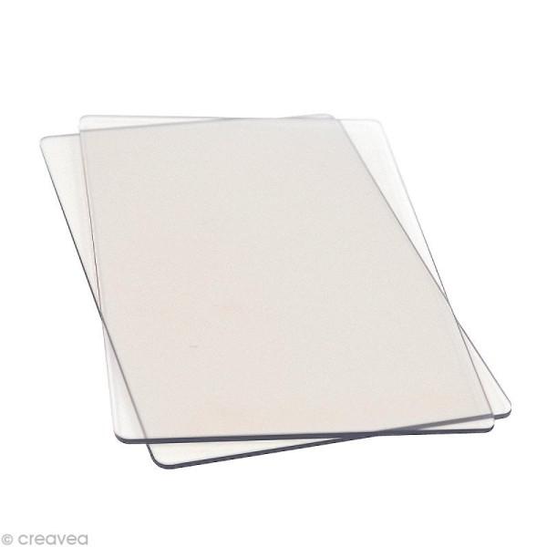 Sizzix plaque de découpe de rechange 22,5 x 15,5 cm - 2 pcs - Photo n°1