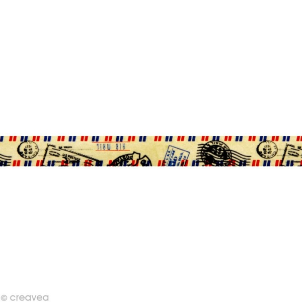 Washi tape Poste aérienne 15 mm x 15 m - Photo n°2
