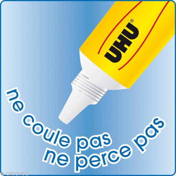 Colle UHU Flex + clean sans solvant 20 gr - Photo n°3