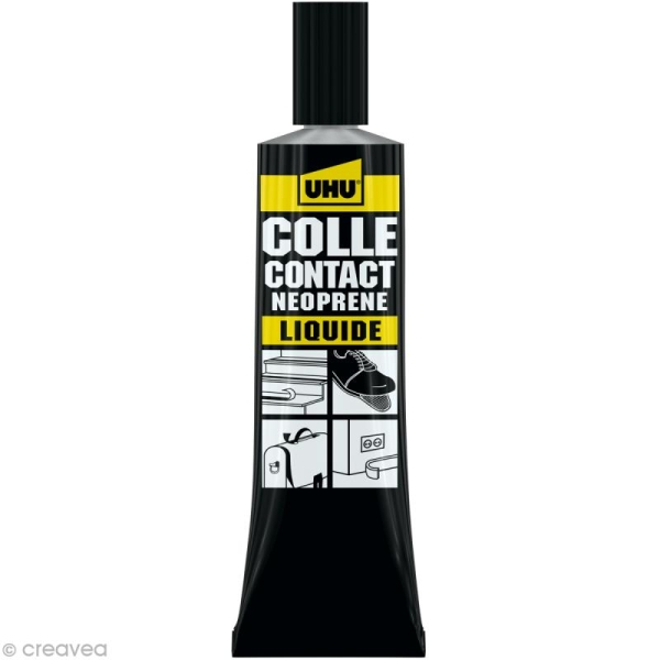 Colle UHU néoprène liquide - 46 ml - Photo n°1