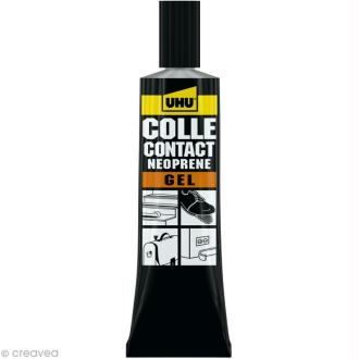 Colle UHU néoprène gel - 46 ml