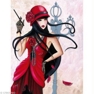 Image 3D Femme - Lilou charleston 30 x 40 cm