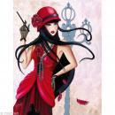 Image 3D Femme - Lilou charleston 30 x 40 cm - Photo n°1